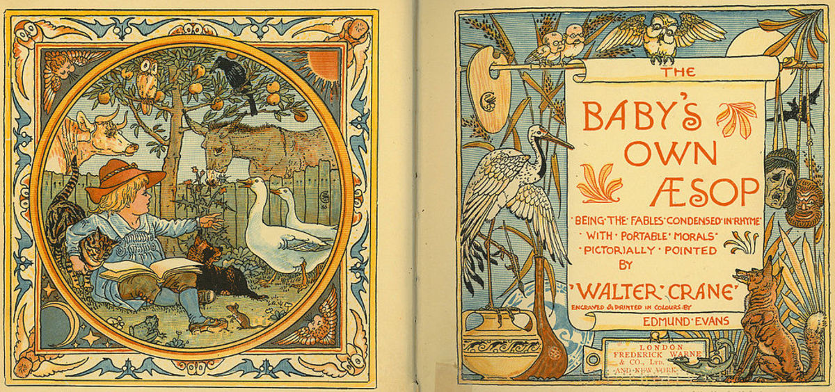 A Fable Illustration by Walter Crane