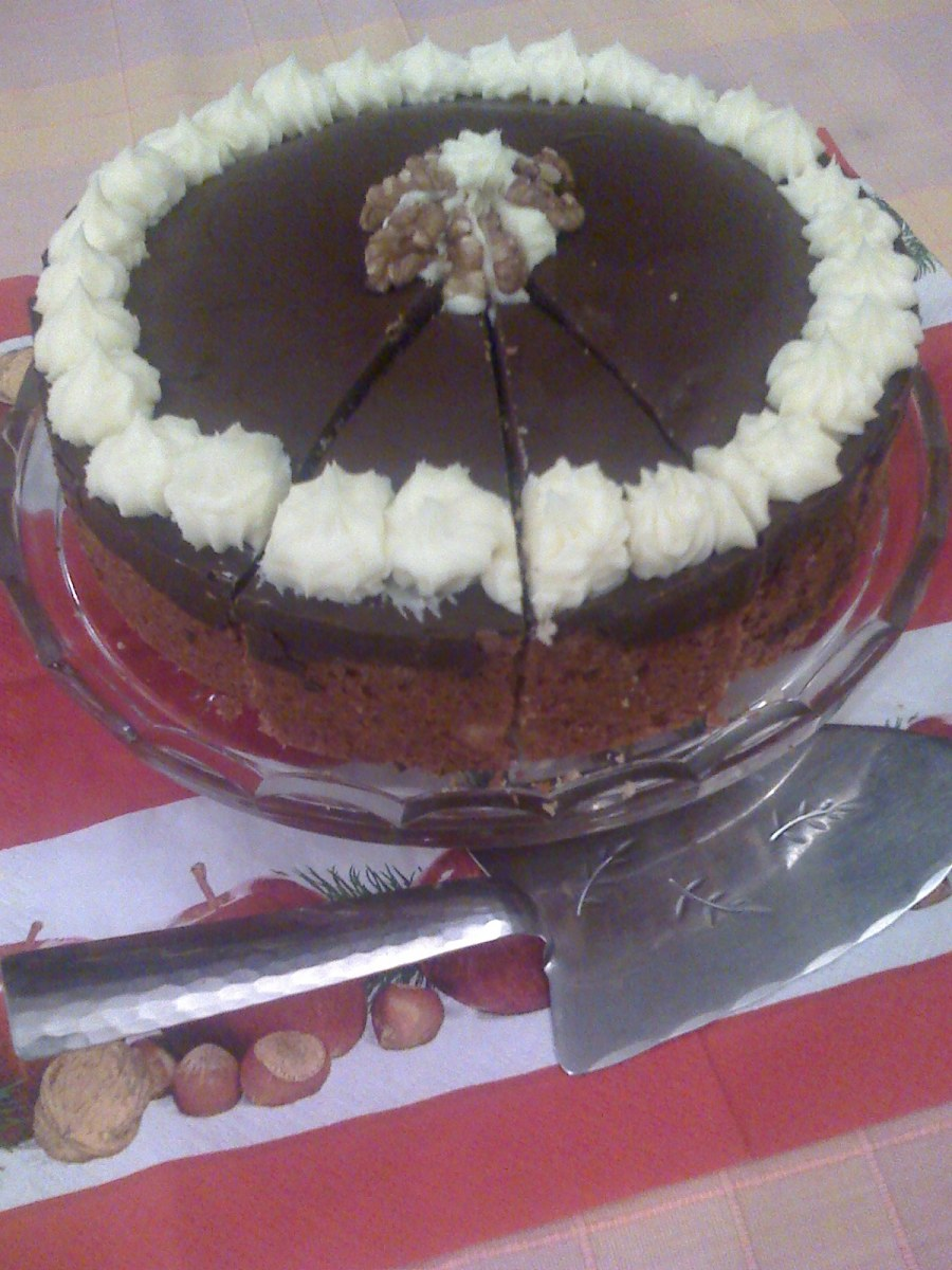 I remember the Tunis cake from my childhood