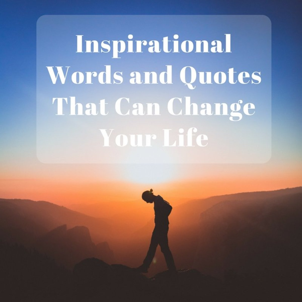 50 Motivational Words And Quotes That Can Change Your Life Holidappy