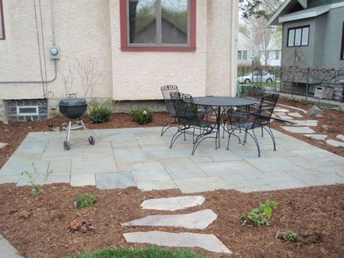 Square patio stones