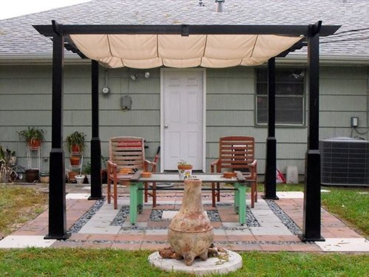 Unique style with a pergola