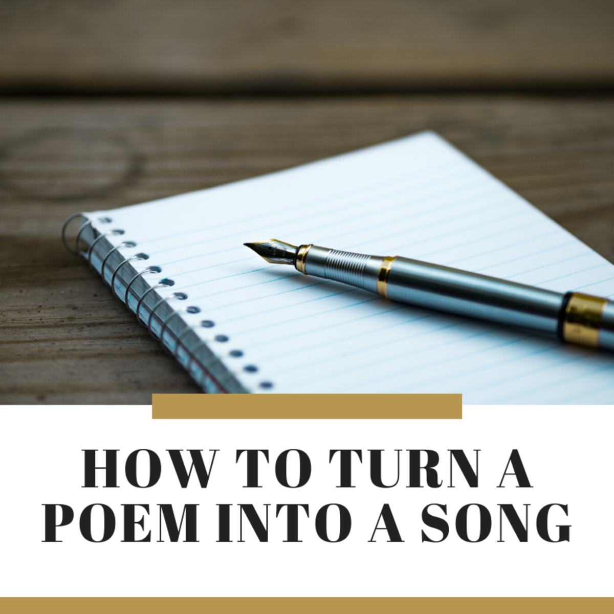 Poetry and music are closely related. Learn how to turn a poem into a song.