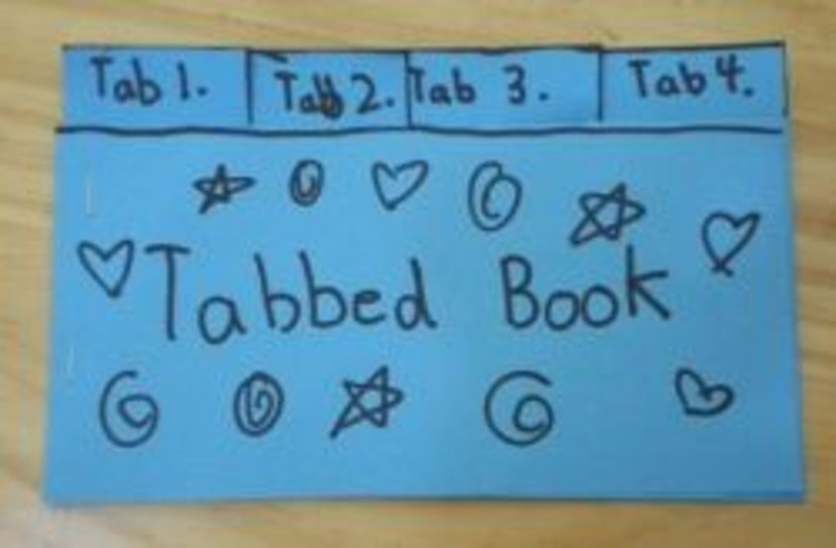 How to Make a Tabbed Book