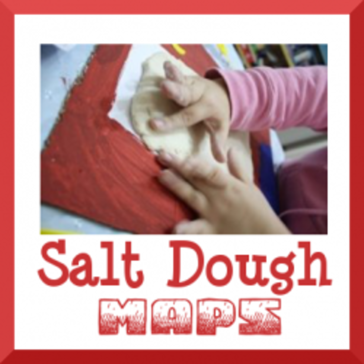 How to Make a Salt Dough Map | WeHaveKids