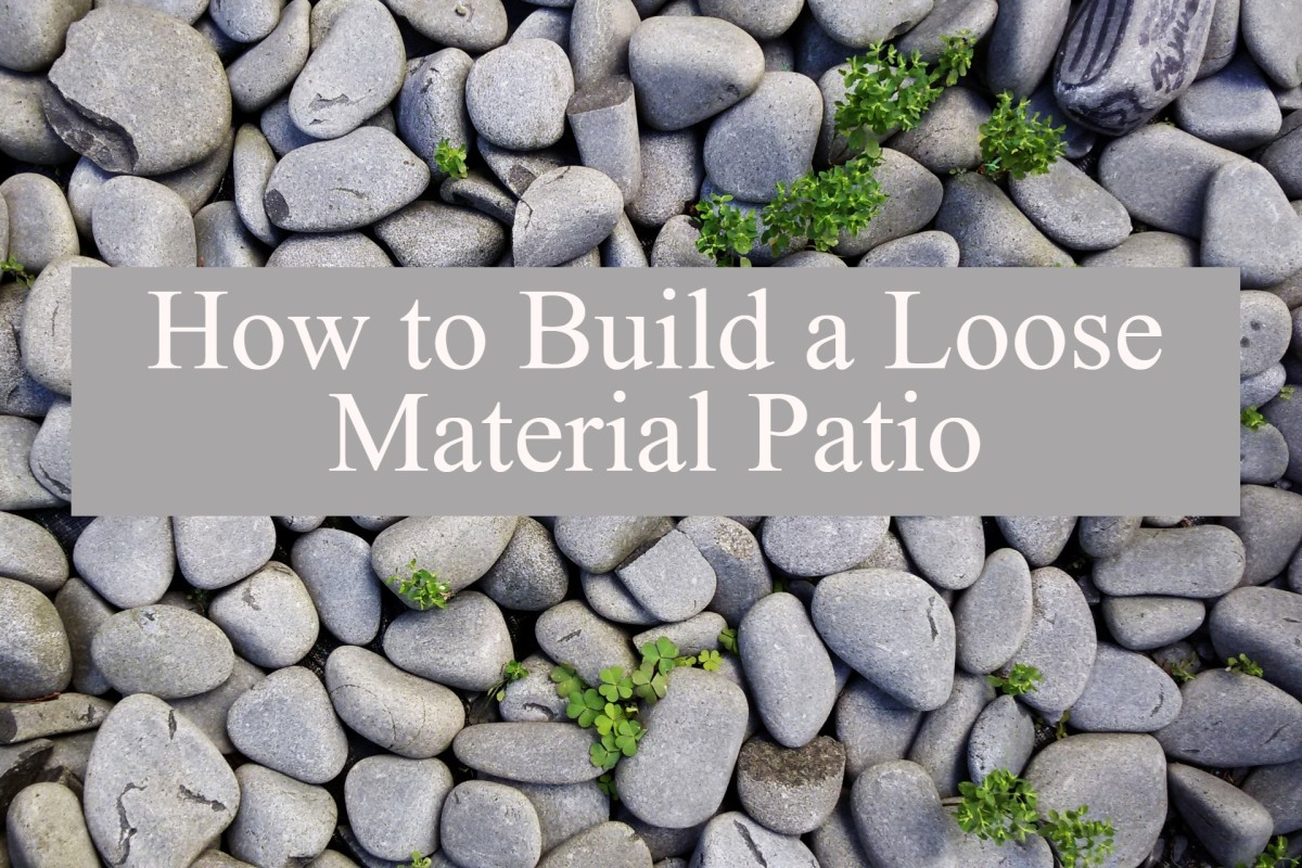 How to Build a Loose-Material Patio