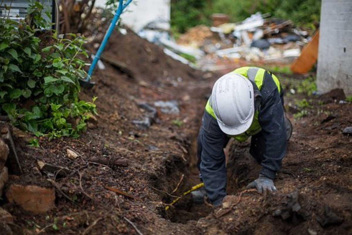 Check for underground cables before you begin digging.