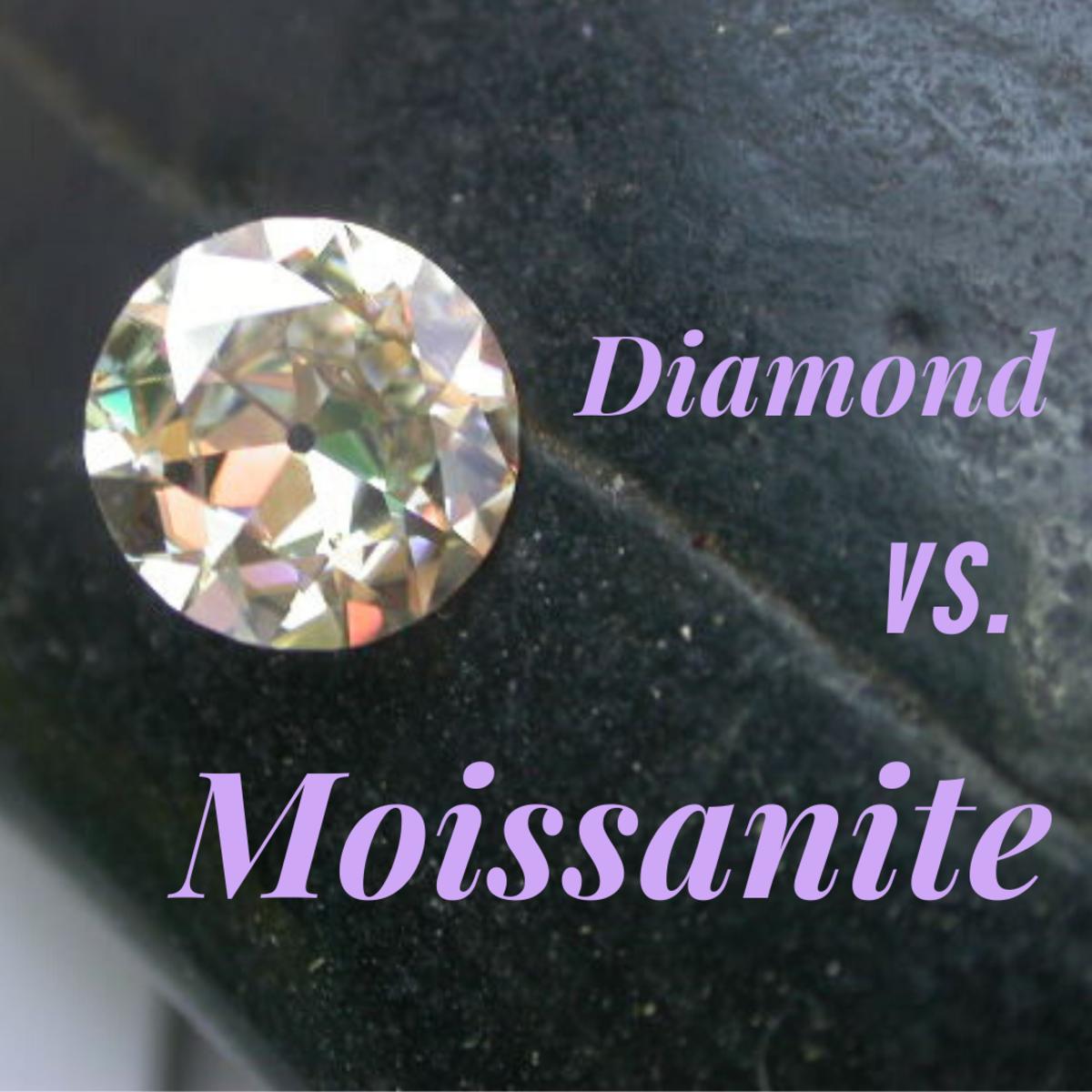 Moissanite vs. Diamond Jewelry