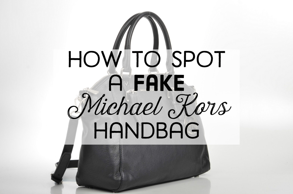 Learn all the signs of a fake Michael Kors handbag.