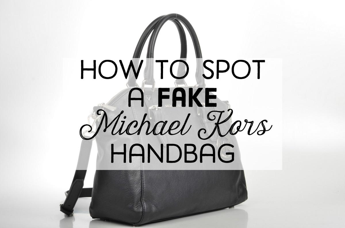How To Identify A Fake Michael Kors Handbags