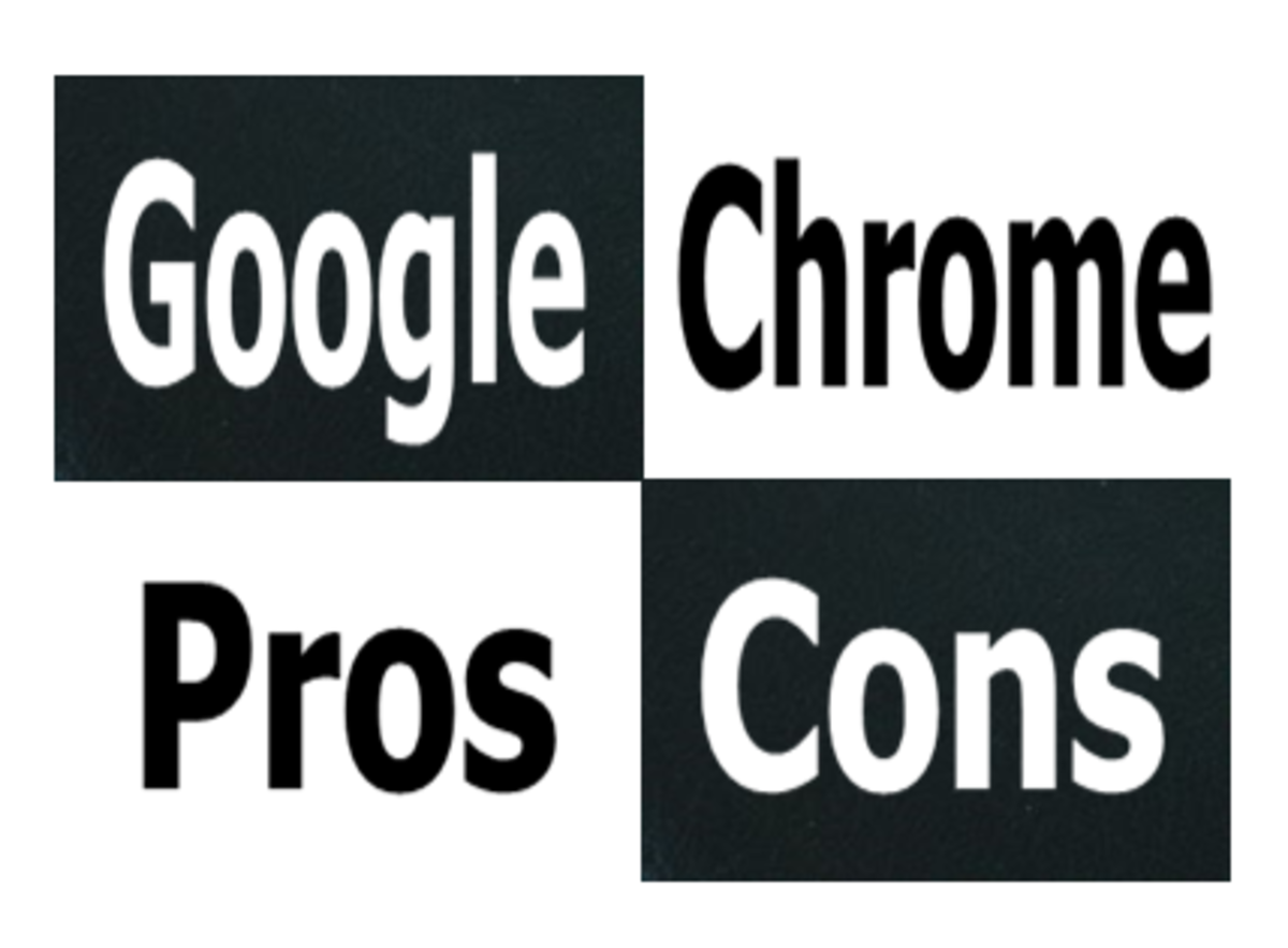 Google Chrome Pros and Cons