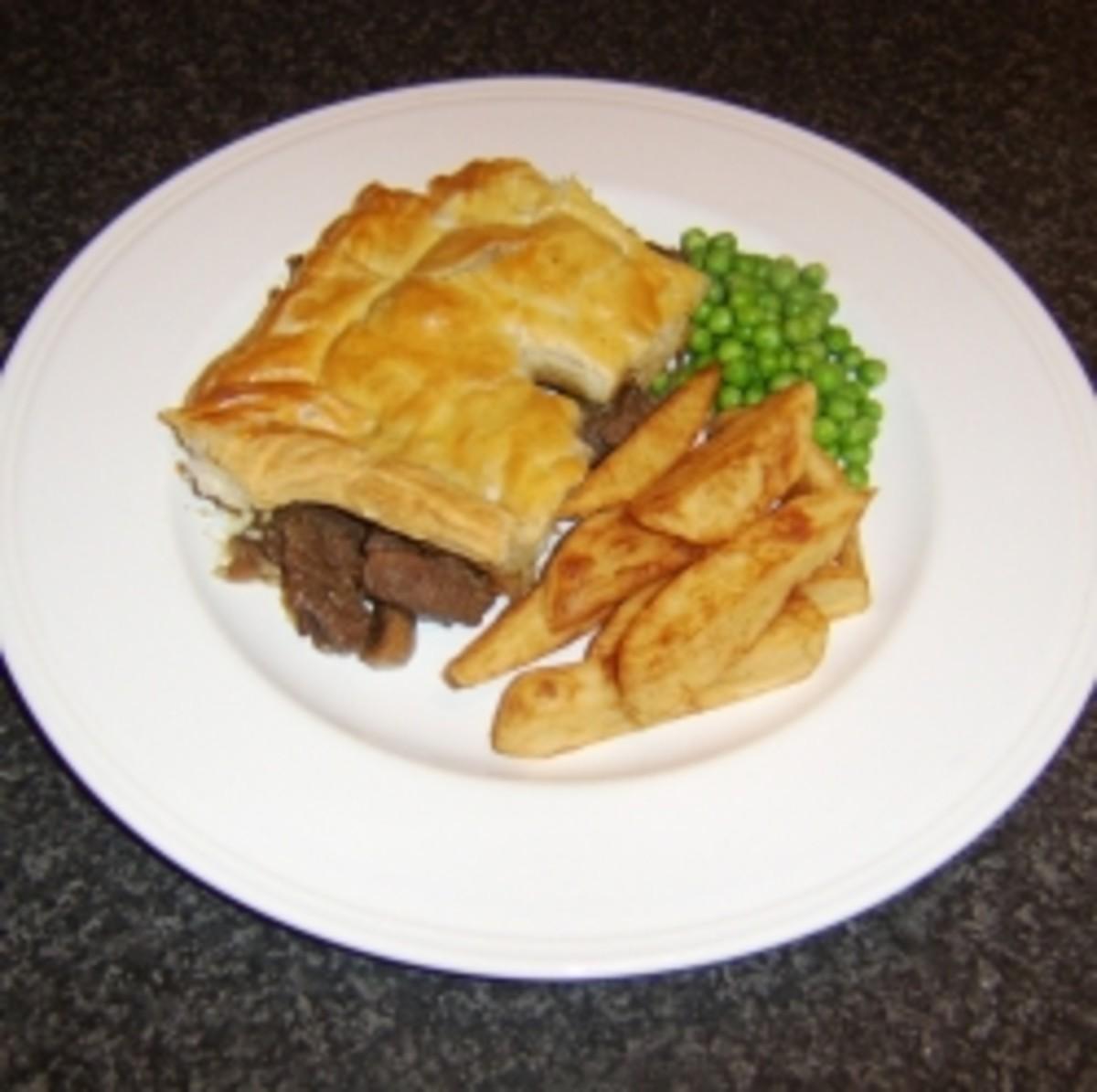Homemade Steak and Kidney Pie