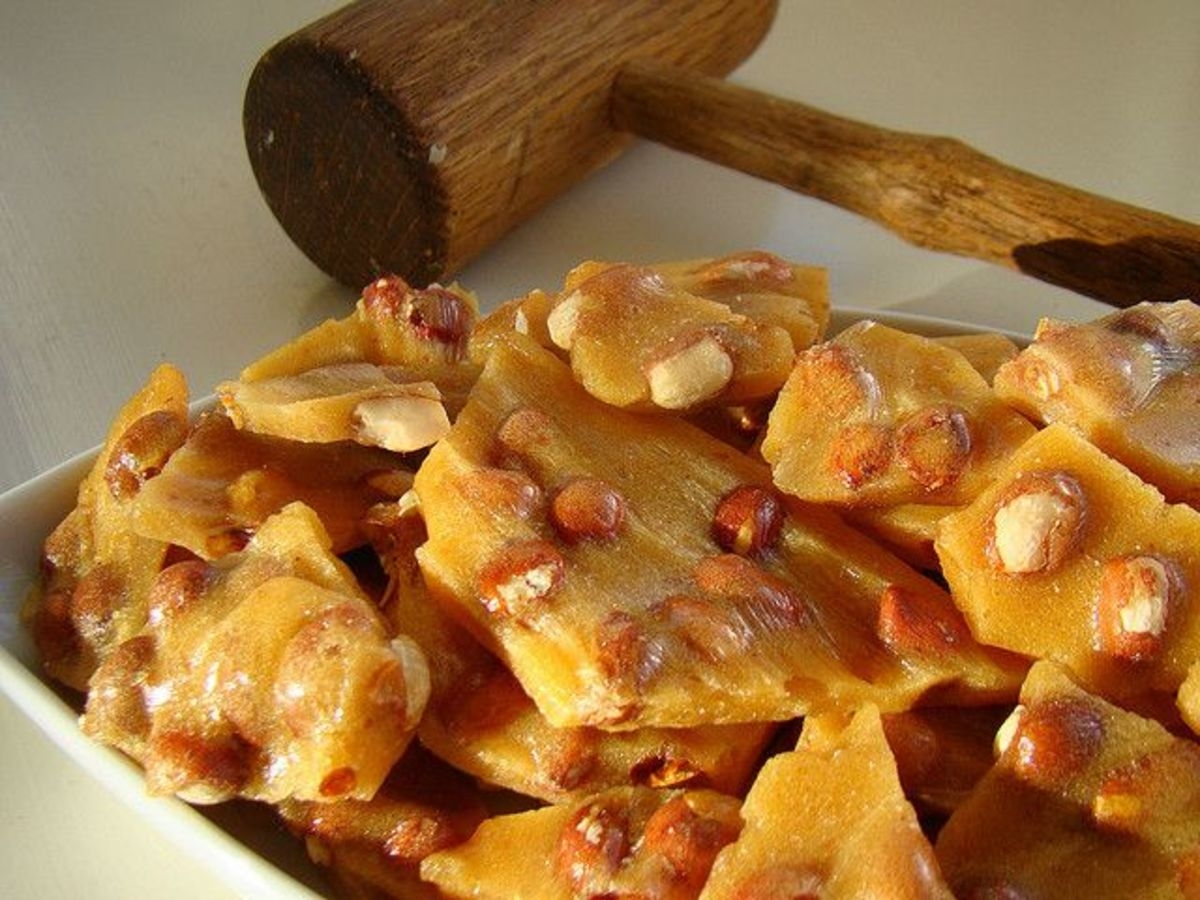 This article will show you how to make peanut brittle just like my grandma used to do.