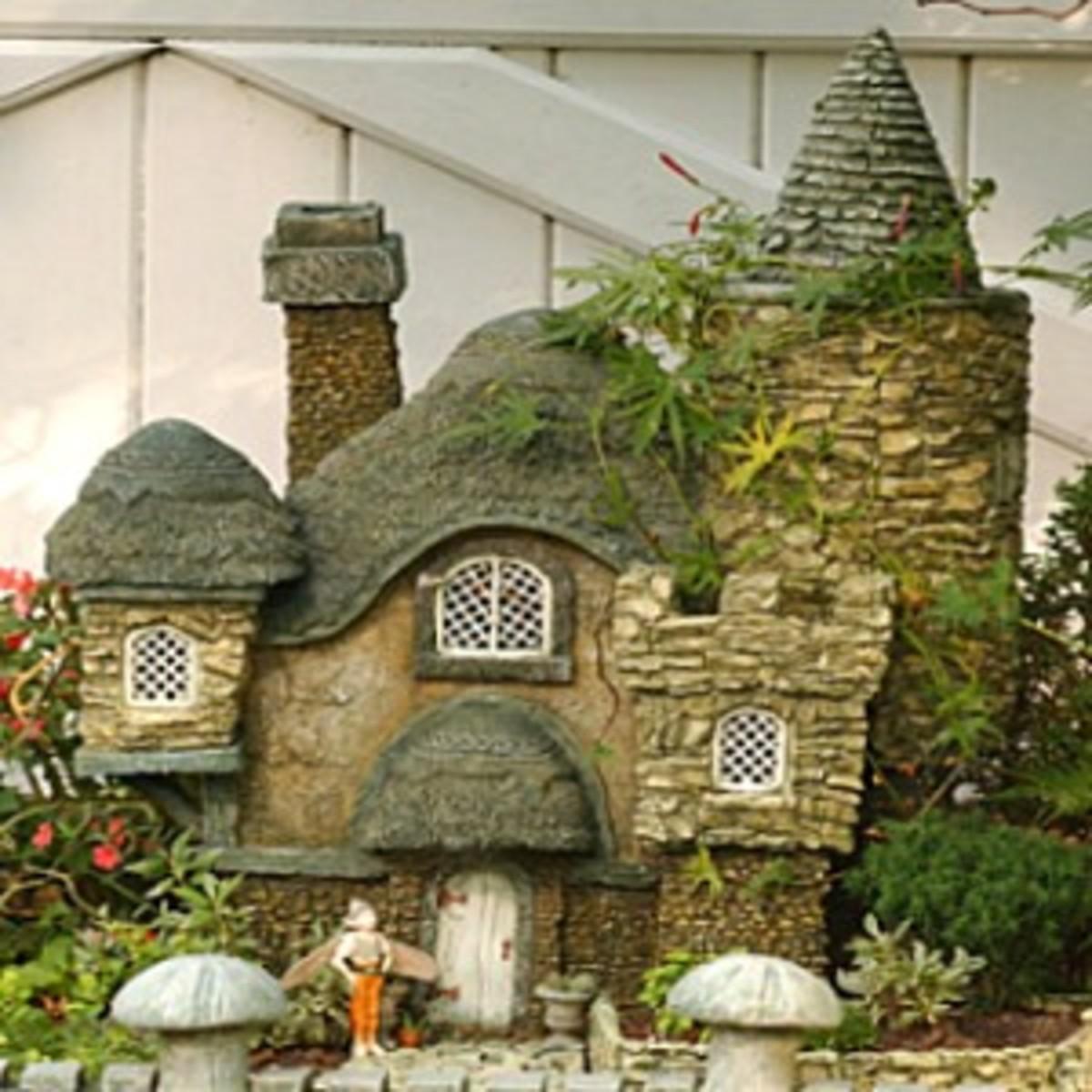 Build a Hypertufa Fairy Garden