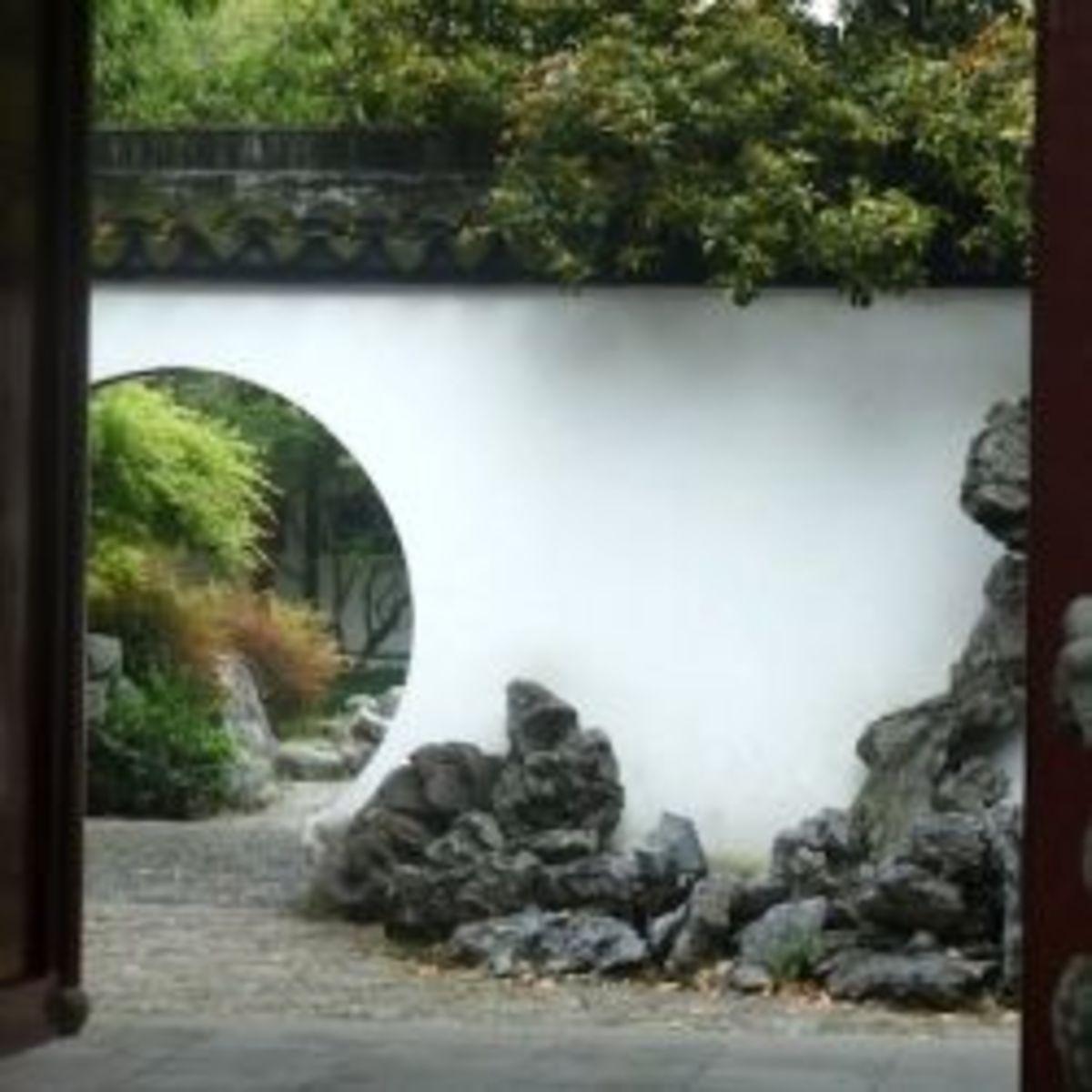 The Gardens of Suzhou, China