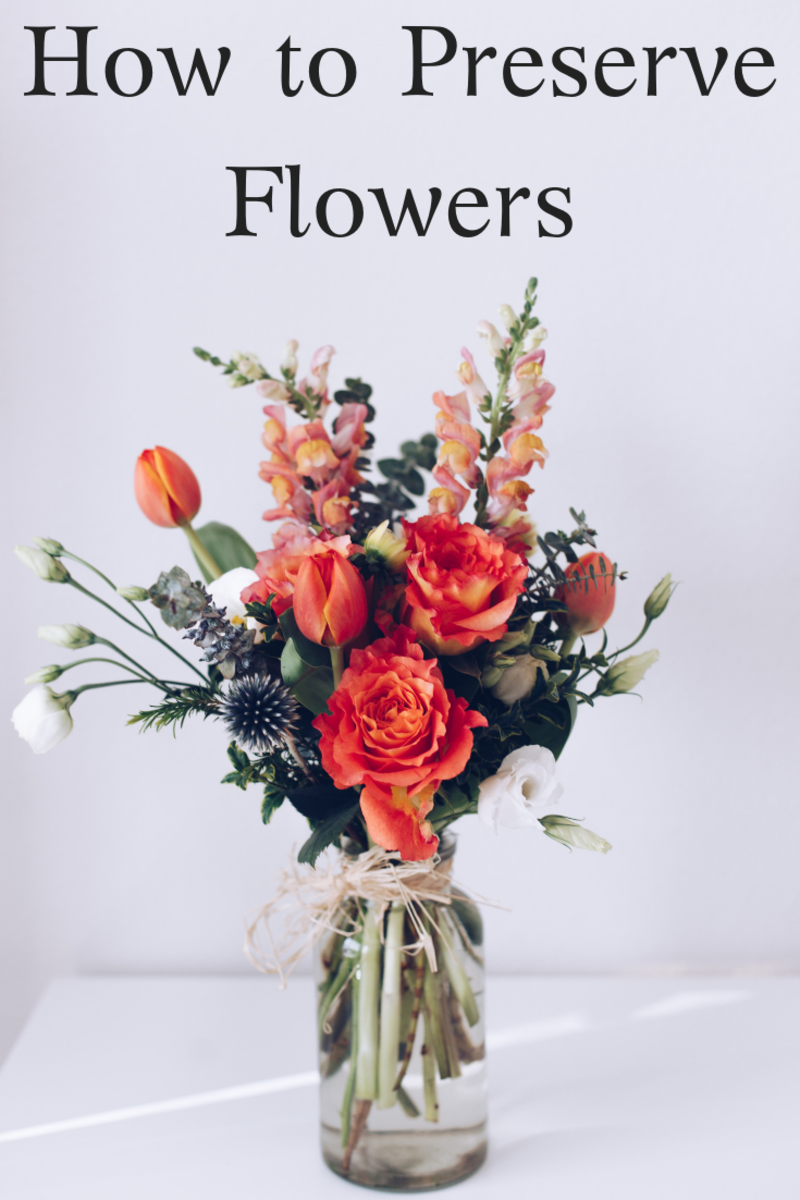 8 Ways to Preserve Roses and Other Types of Flowers