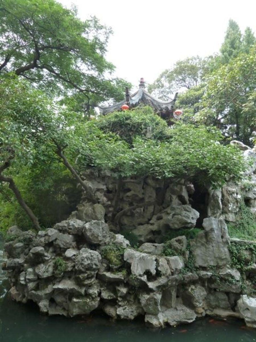 Lake Tai rocks layered in a wonderful arrangement.