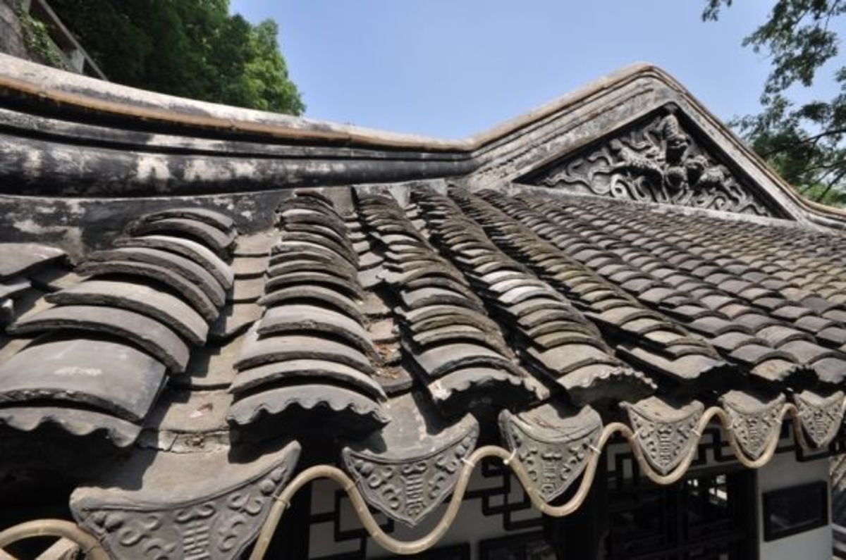 Even the roofs are often sites of thoughtful and beautiful designs.