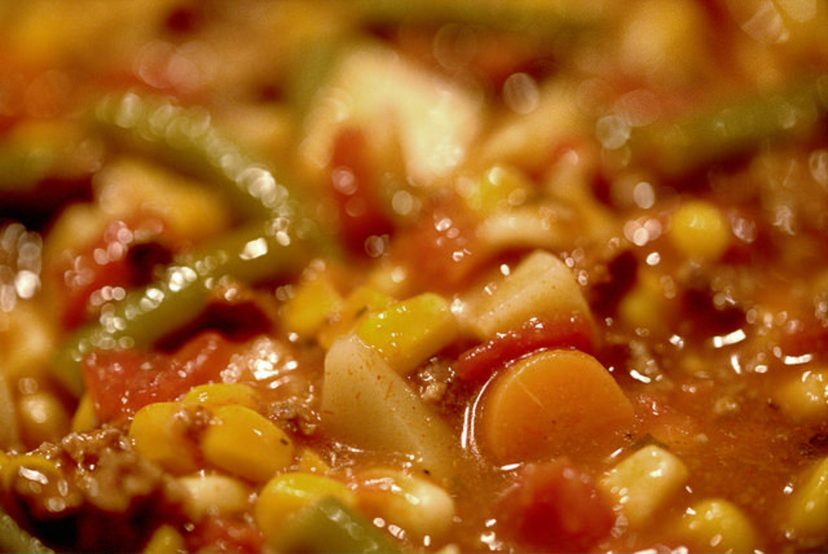 Growing up, I loved this soup!