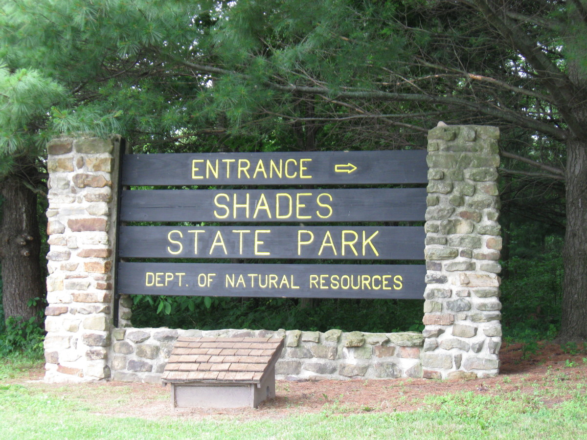 Shades State Park in Indiana