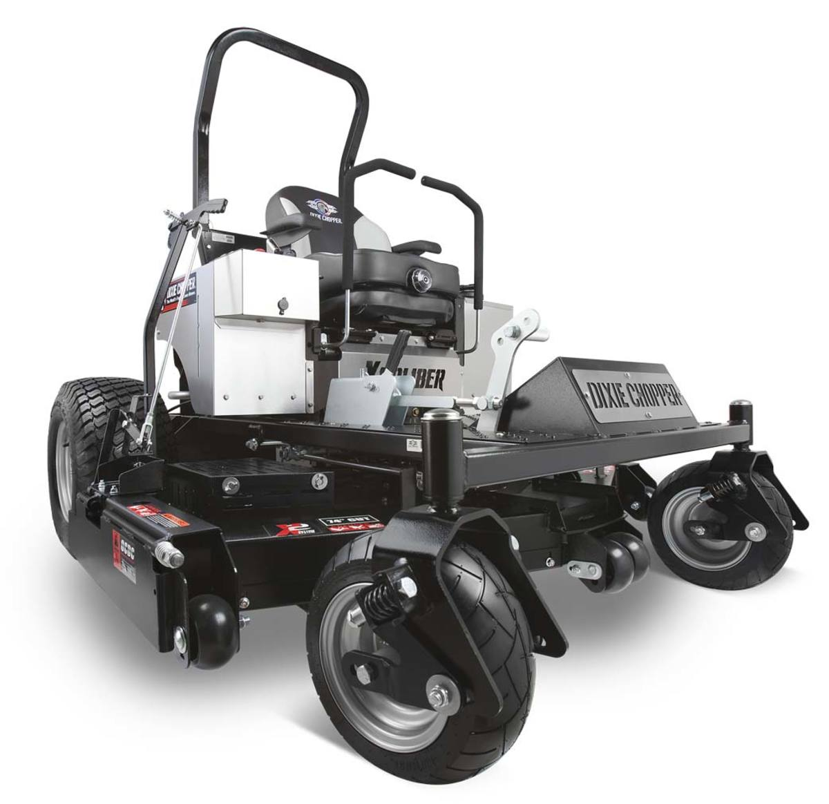 Reviews of Exmark, Ferris, Dixie Chopper, and Kubota Commercial Zero-Turn Mowers