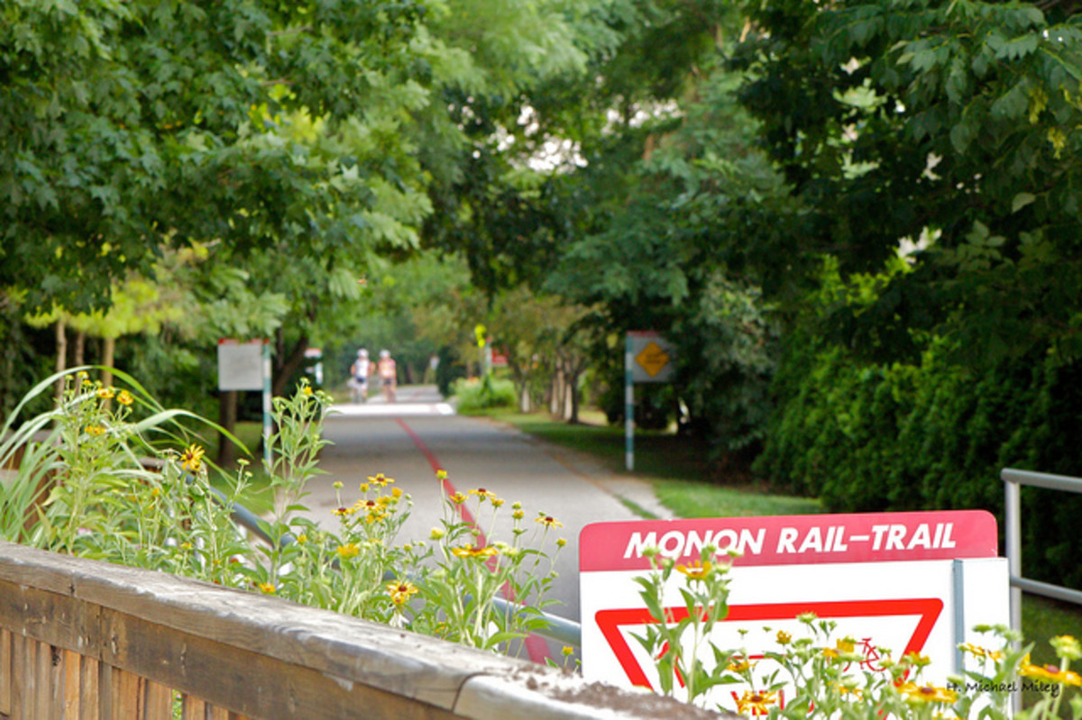 The Best Bike Trail in Indianapolis: The Monon Trail