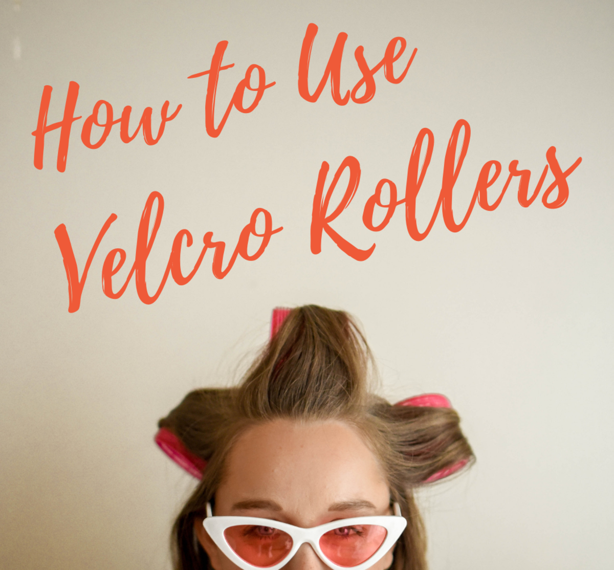 Velcro rollers are a quick, low-effort way to create waves or curls.
