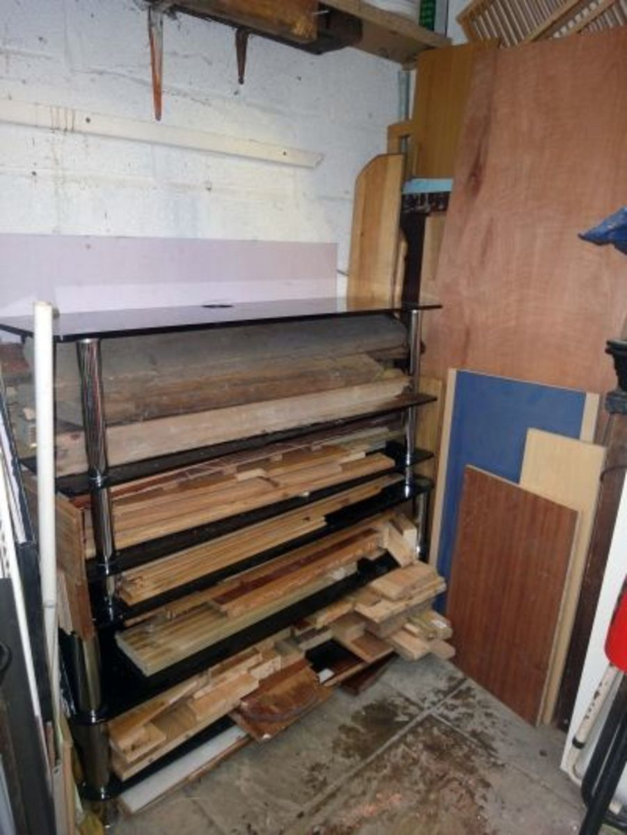 The Issues Faced By DIY Enthusiasts in Storing and Organising Their Salvaged Wood