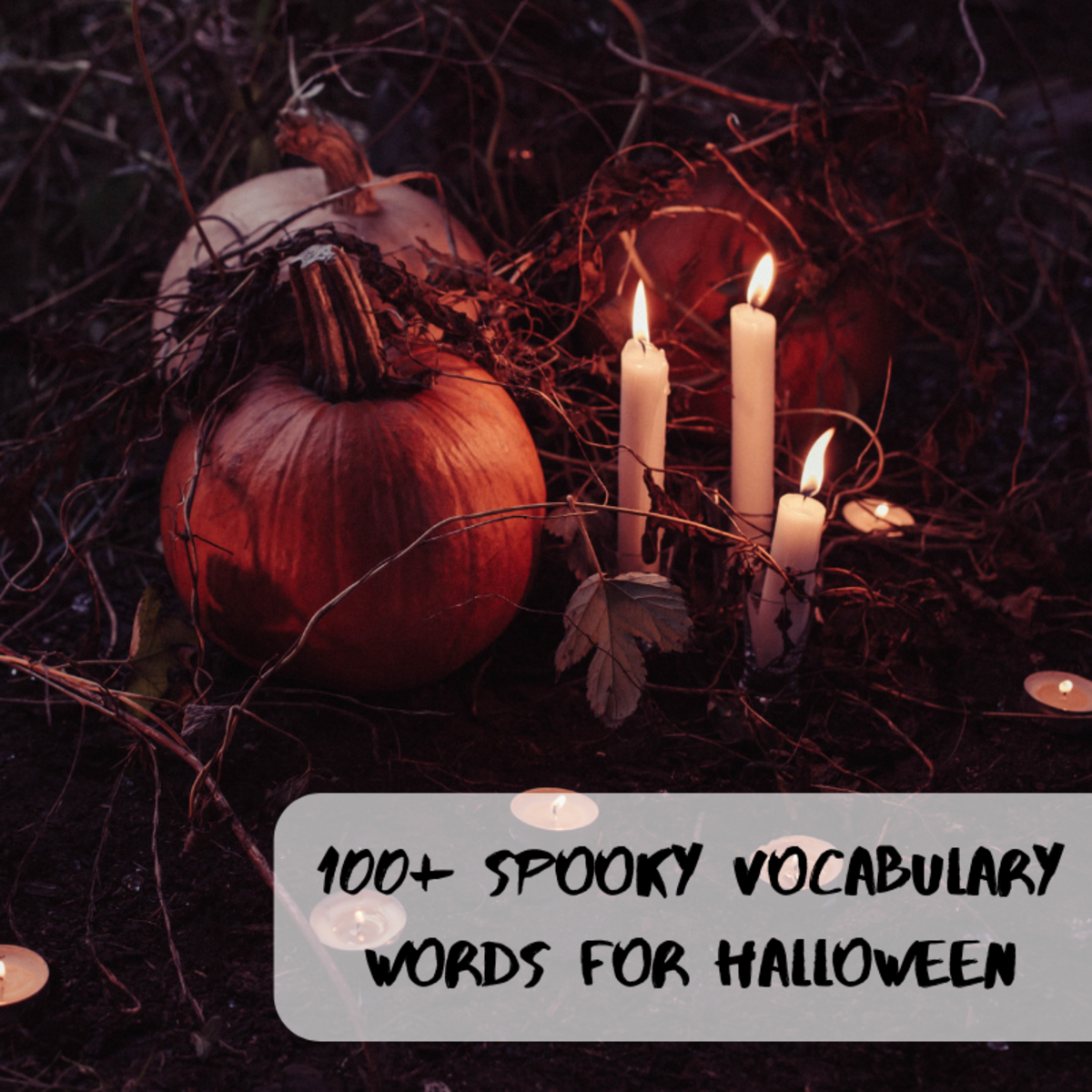 Halloween is a great time to combine fun with education—here are some spooky vocabulary words you can use in your celebrations.