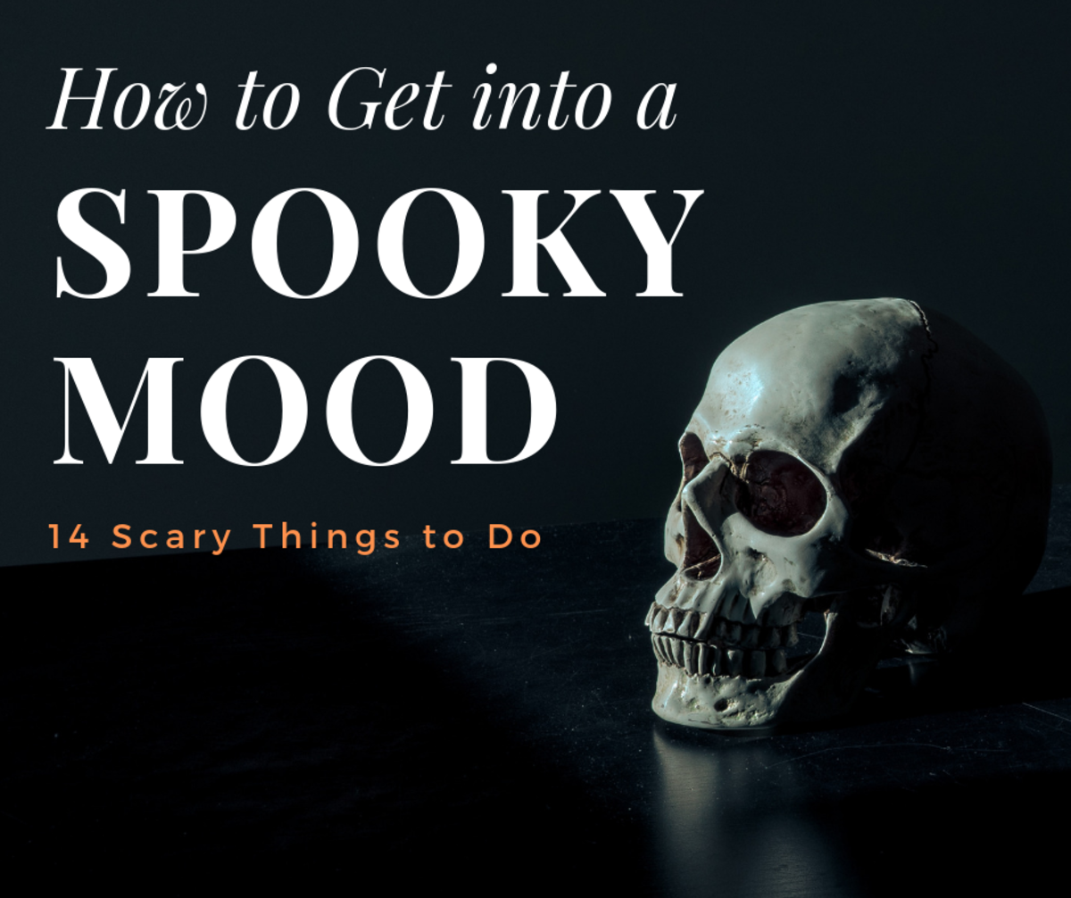 Can't wait for Halloween? Get ready to be spooked with these great ways to get in a spooky mood.