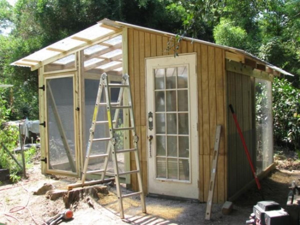 Chicken House Side