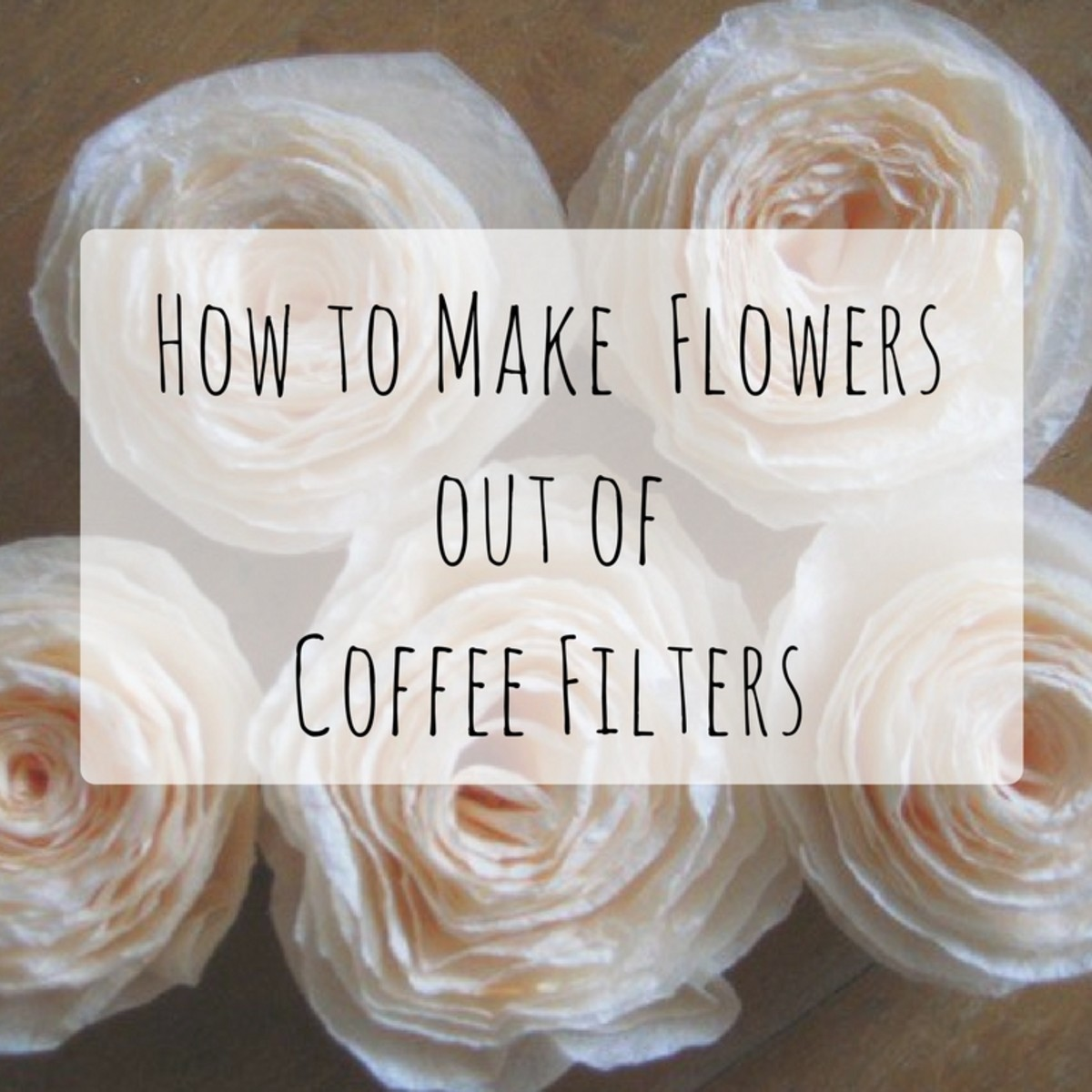 How to Make Flowers From Coffee Filters: 8 Patterns and Tips