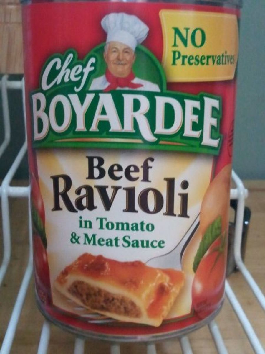 Canned Ravioli made tastier with this simple recipe