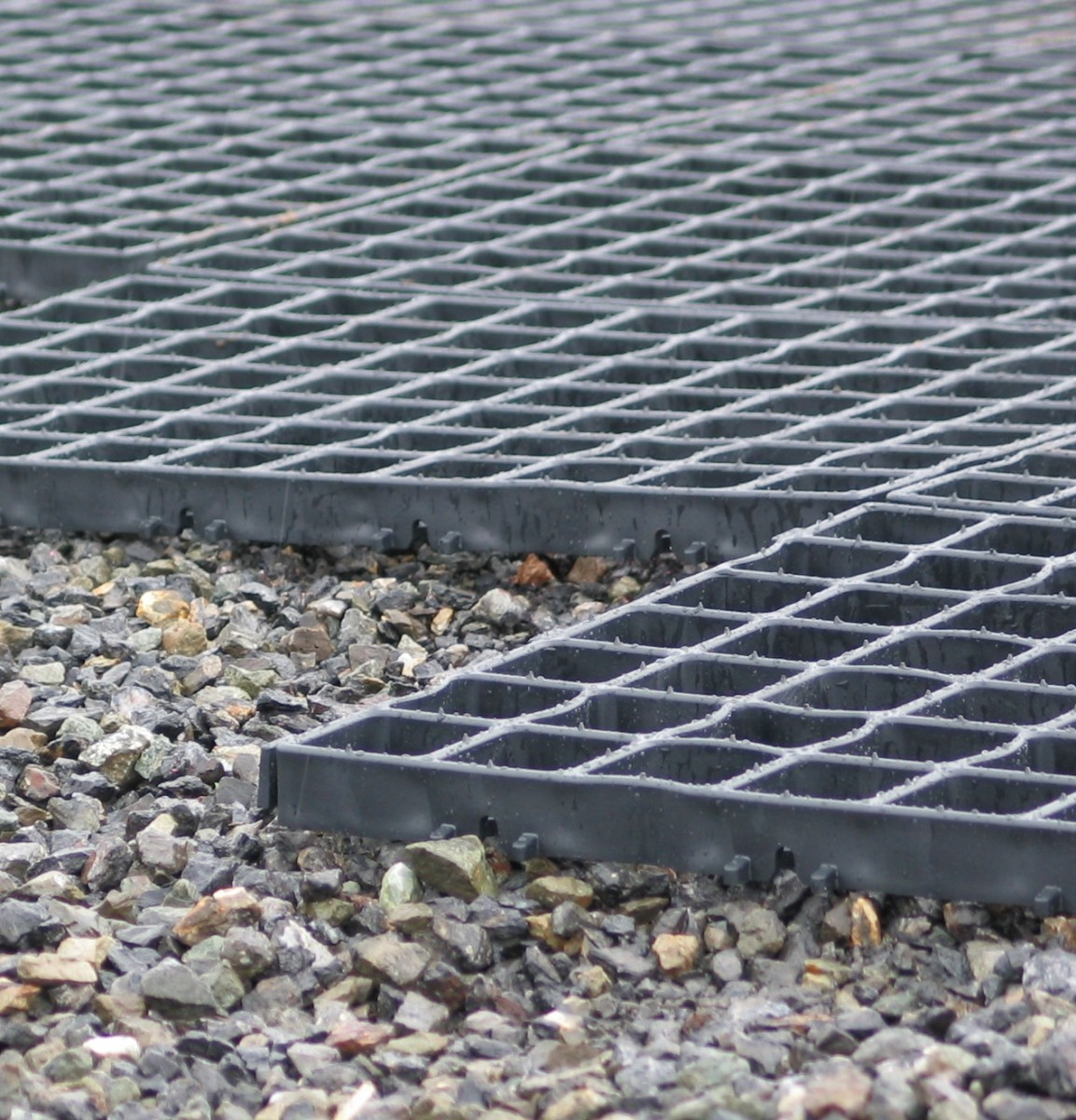 gravel underbase for drainage