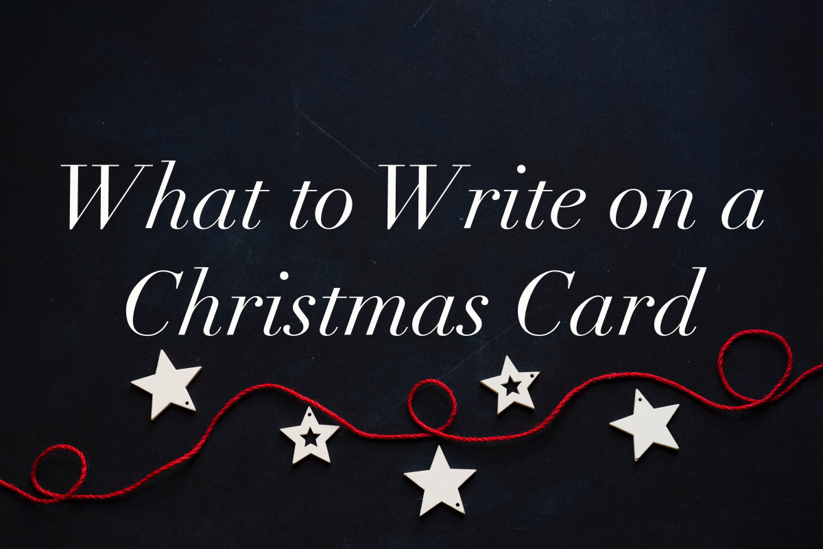 Christmas Card Wording Ideas and Examples