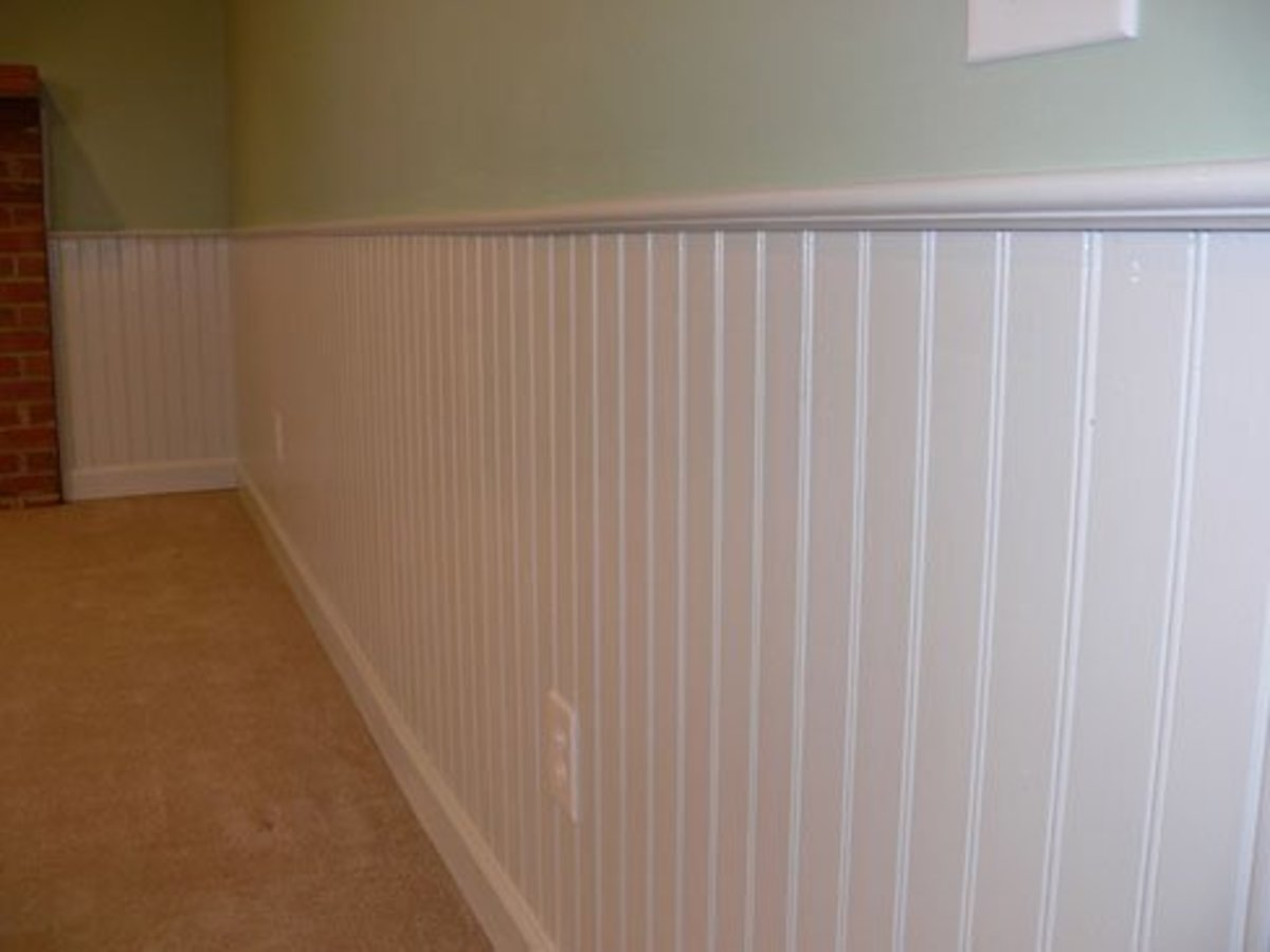 Bring new life to your walls with paint for Examples of wainscoting