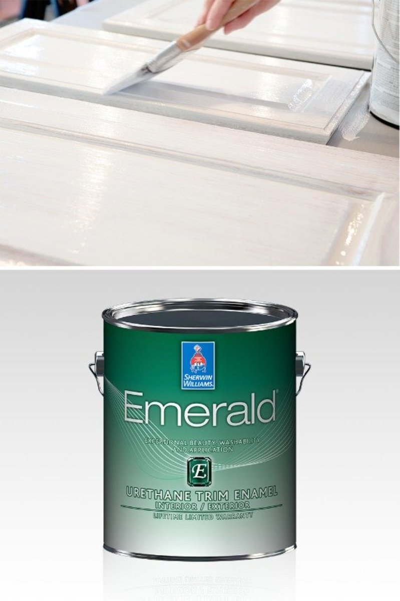 My Review of Sherwin Williams Emerald Urethane on Cabinets