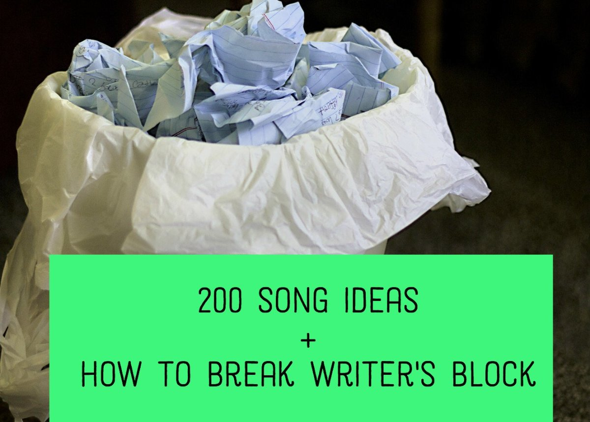 200 Things to Write a Song About: Lyric Ideas and