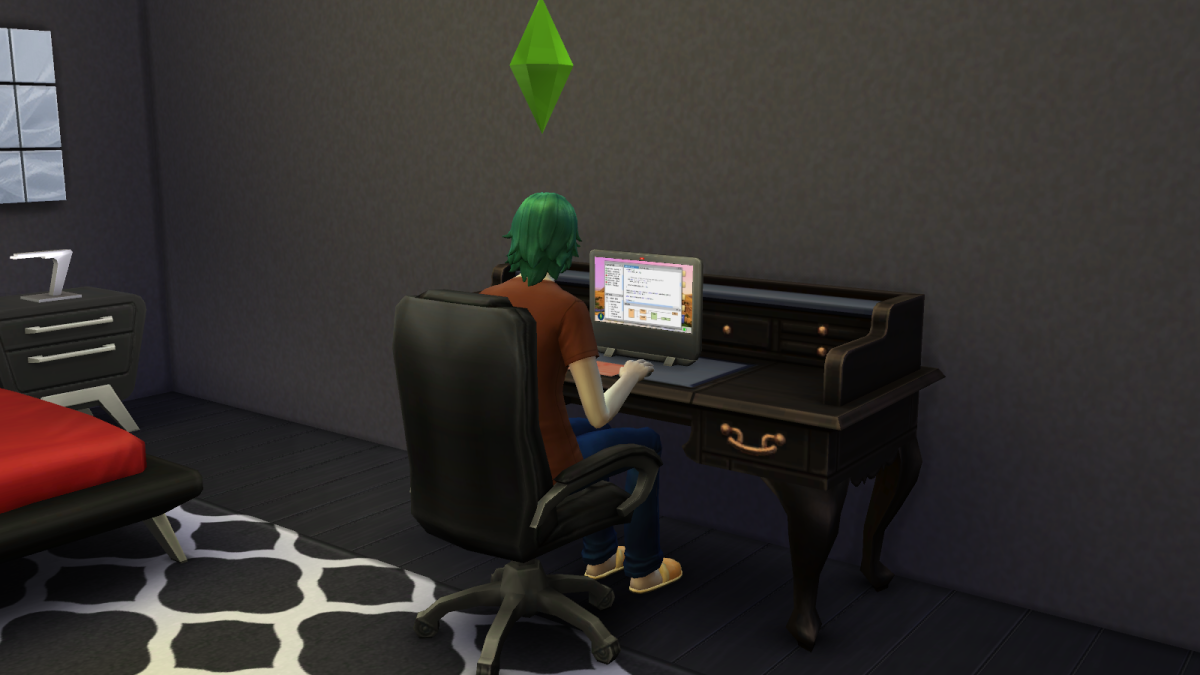 """The Sims 4"" is copyrighted by Electronic Arts Inc. Images used for educational purposes only."