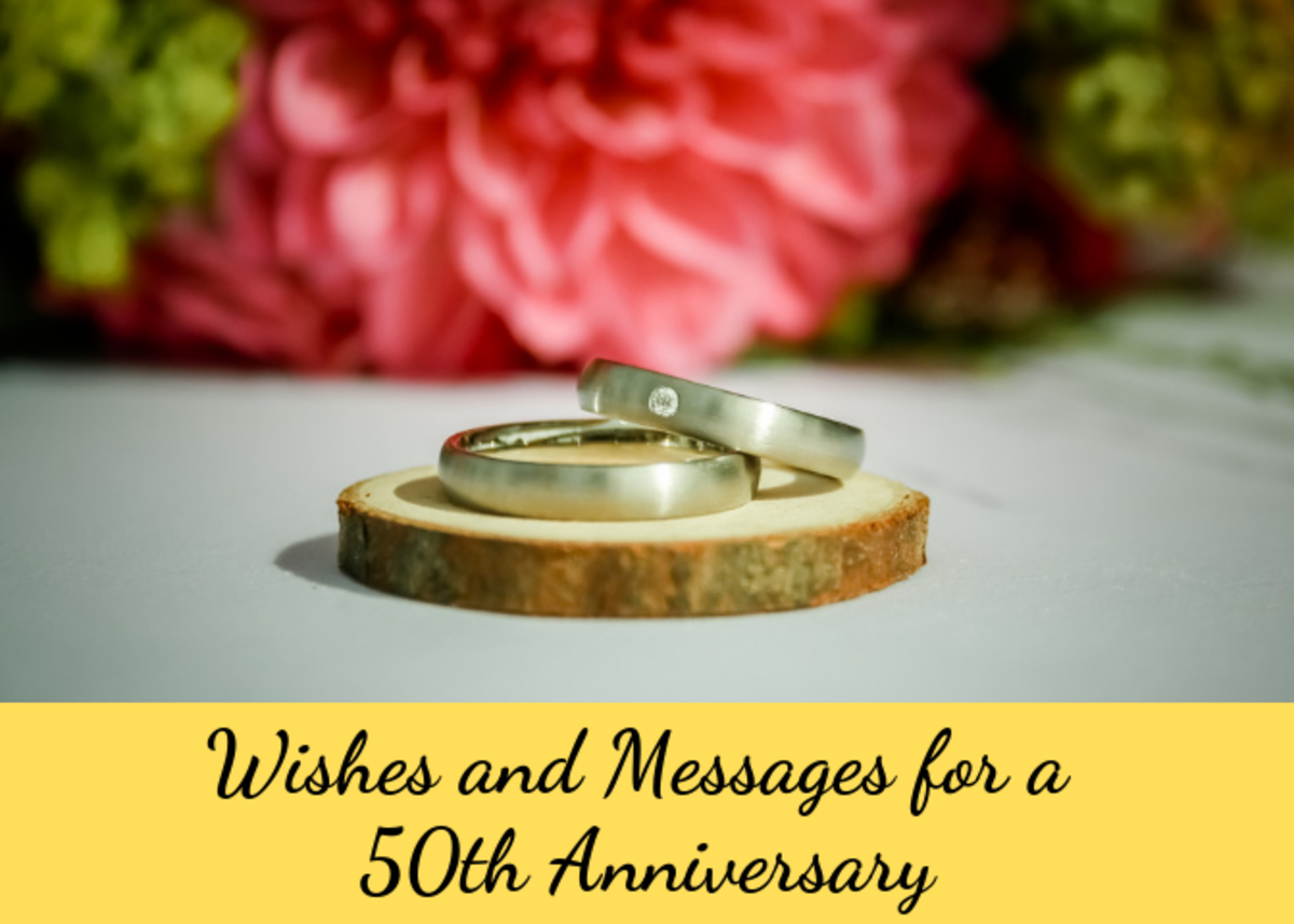 50th Wedding Anniversary Messages and Quotes