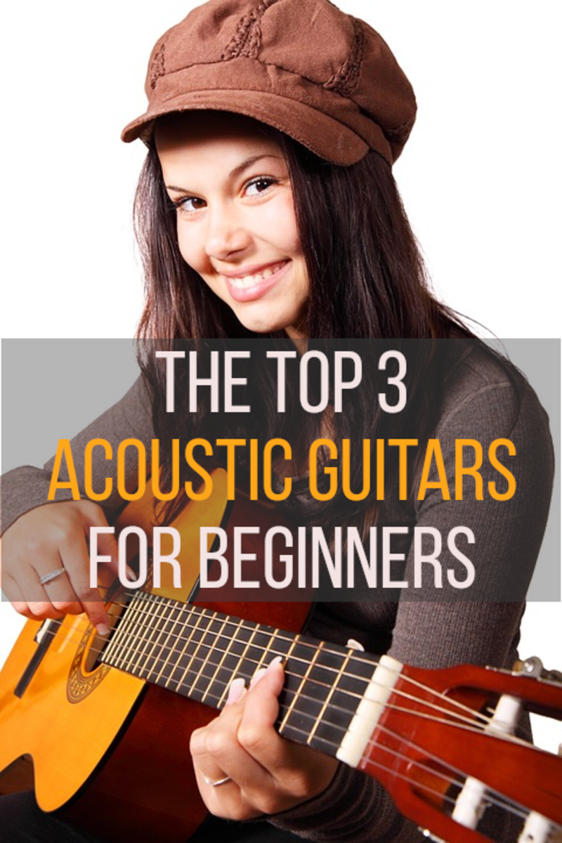 The best acoustic guitars for beginners are easy to play and sound great, read on for my recommendations