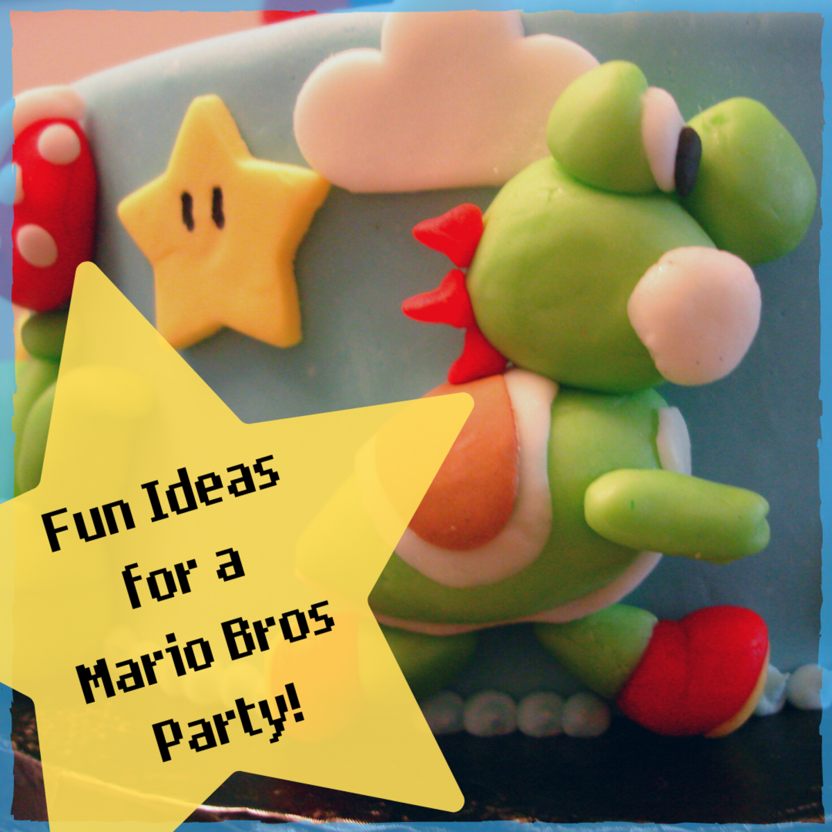 Get a pipeload of ideas for a Super Mario Bros-themed party, from cakes to decorations to free printables for DIY fun!