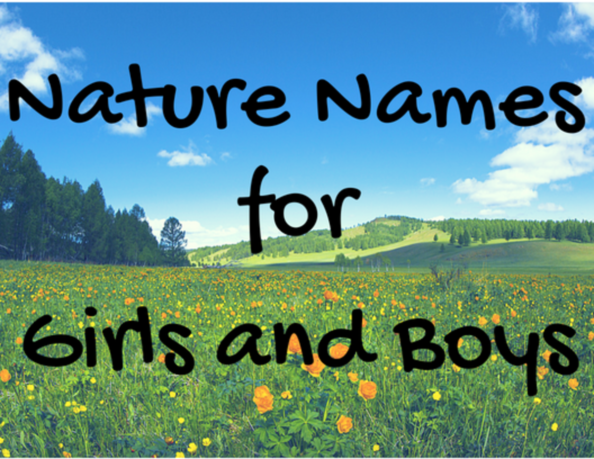 180+ Earthy Baby Names Inspired by Nature