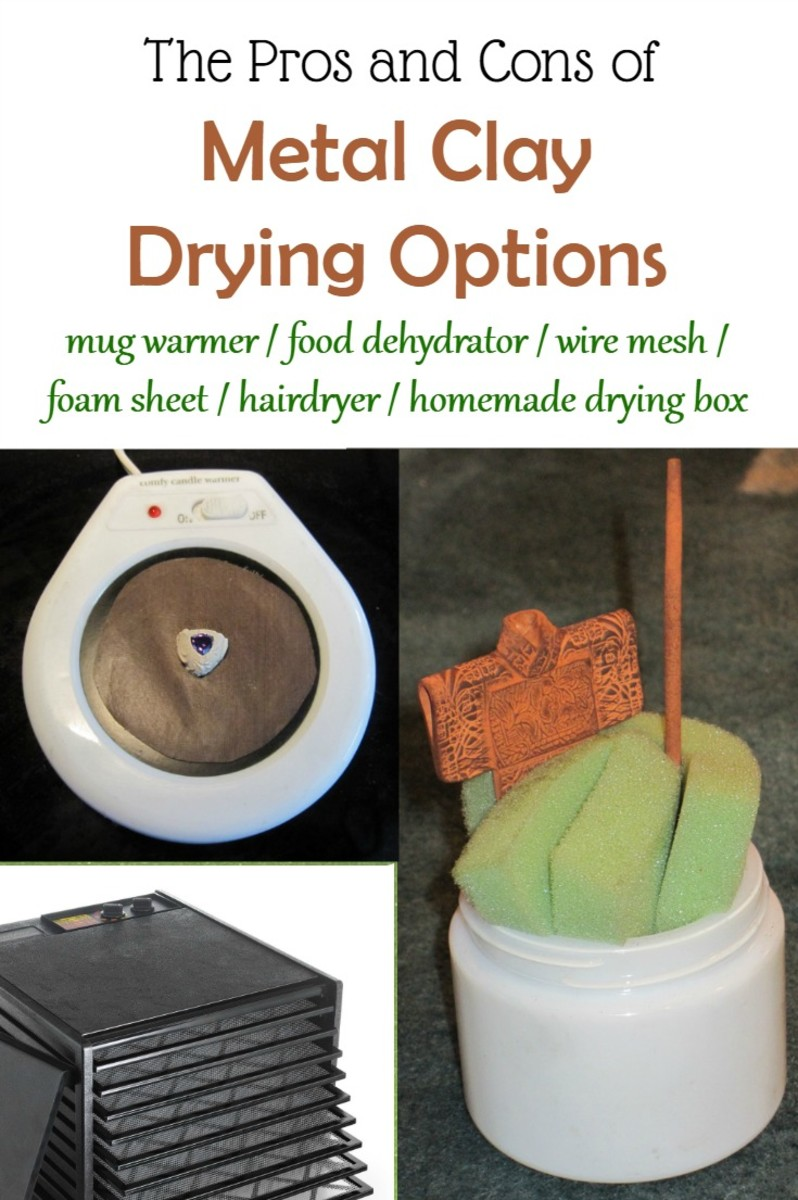 The Pros and Cons of Metal Clay Drying Options