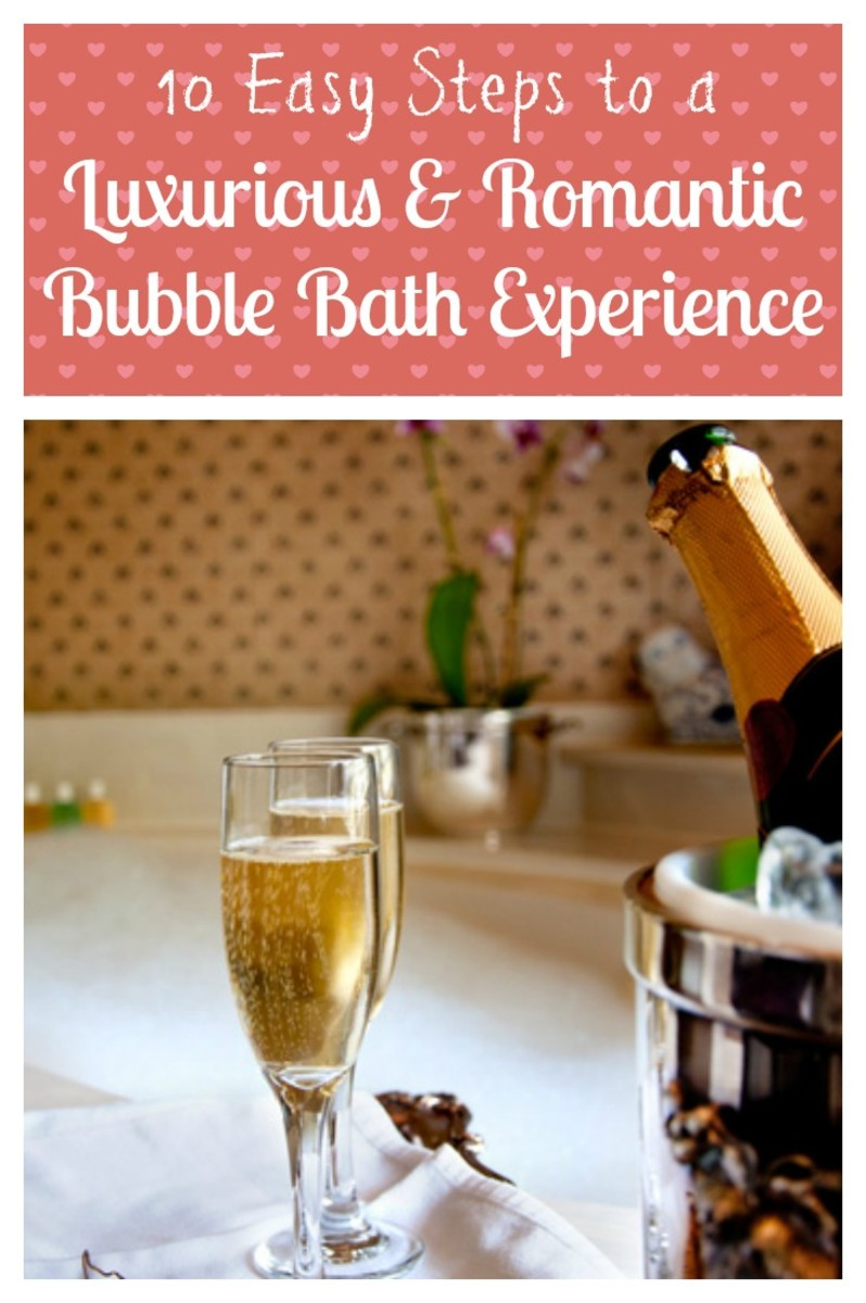 Learn how to create a luxurious, relaxing and romantic (if you wish) bubble bath in 10 easy steps