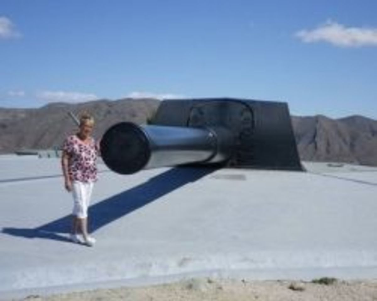 The Big Guns at Mazarron, Murcia, Spain