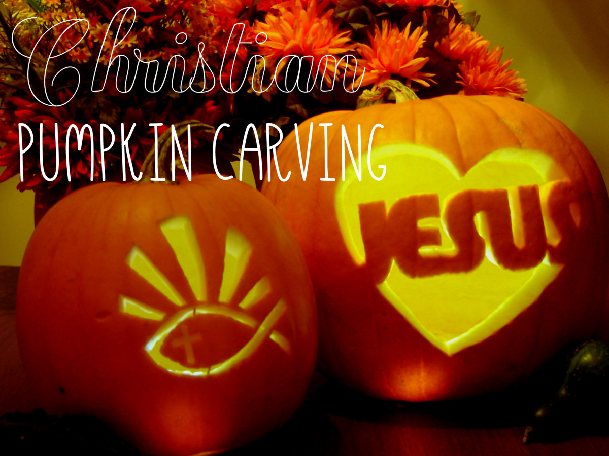 Christian Pumpkin Carving for Halloween