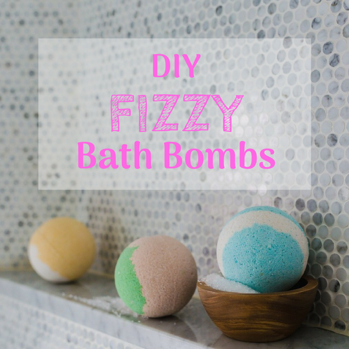 Bath bombs are easy to make at home.