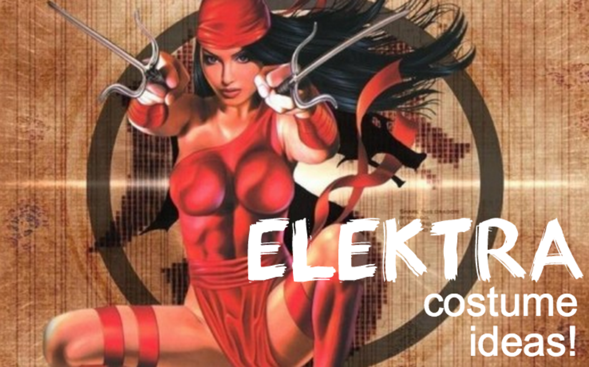 How to Make a Smoking Hot Elektra Costume for Halloween