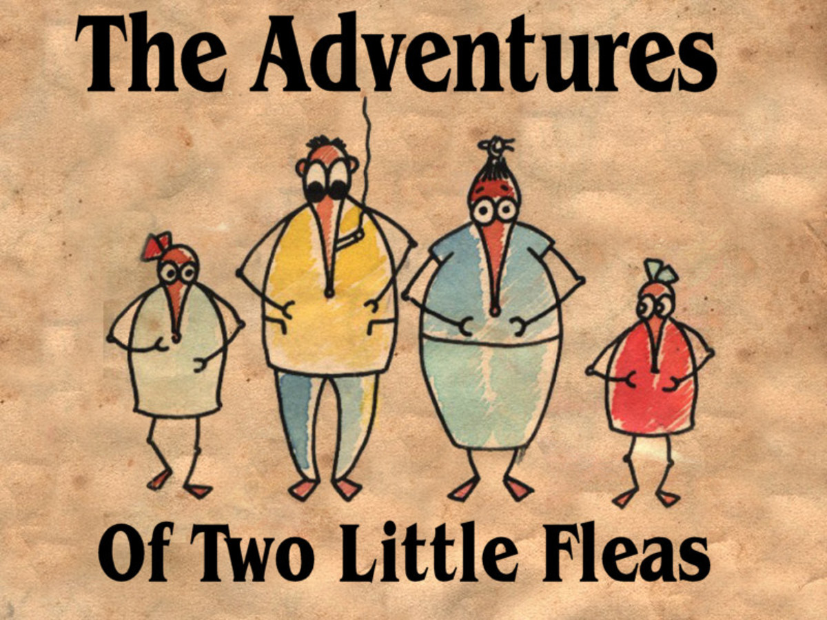 The adventures of two little fleas
