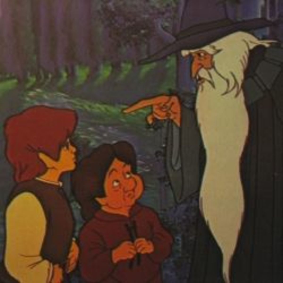 """""""The Lord of the Rings"""" Book and Animated Movies for Children"""